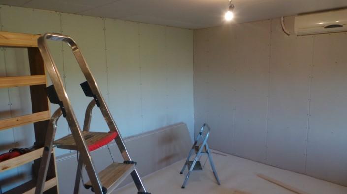 De muren zijn klaar!