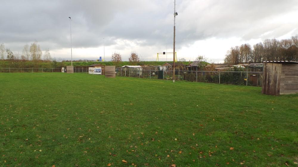 Het trainingsveld