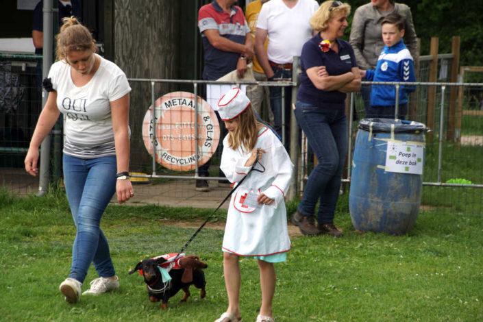DvdH Kind Hond Show verpleegster 1ste plaats